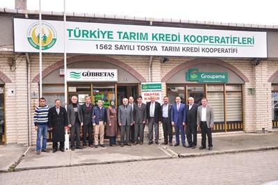 TOSYA PİRİNCİ ARTIK 81 VİLAYET'TE