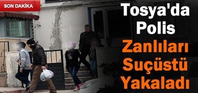 TOSYA'DA POLİSİN BÜYÜK BAŞARISI..