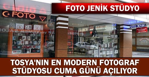TOSYA'NIN YENİ MODERN FOTOĞRAF STÜDYOSU CUMA GÜNÜ ACILIYOR