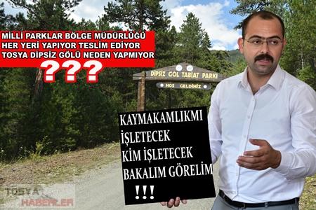 """TOSYA'DA BİR GÖL """"DİPSİZ OLDUĞU KADARDA GİZEMLİ"""" ..!"""
