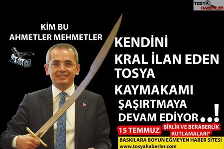 15 TEMMUZ GECESİ TOSYA KAYMAKAMI PİŞKİN , KONUŞMASI İLE ŞAŞIRTTI..