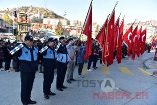 TOSYA'DA 10 KASIM ATATÜRK'Ü ANMA TÖRENİ DÜZENLENDİ..