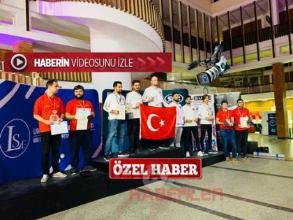 TOSYA'LI EMRE TARHANA ROBOTZADE AVRUPA ŞAMPİYONU..
