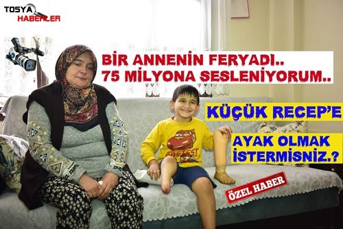 """BİR ANNENİN FERYADI """" RECEP'İN YÜZÜ GÜLSÜN İSTERMİSİNİZ """" ?.."""