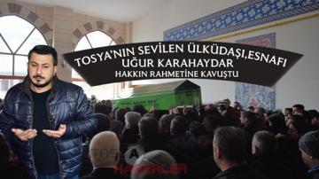 """BİR ACI KAYIP DAHA """"TOSYA'NIN SEVİLEN SİMASI,ÜLKÜDAŞI UĞUR KARAHAYDAR'I KAYBETTİK""""…"""