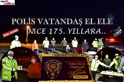 TOSYA'DA UYGULAMA NOKTALARINDA PASTALI KUTLAMA (NİCE 175. YILLARA)