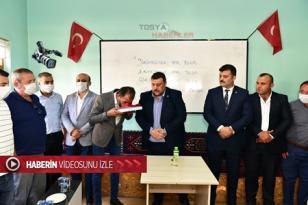 TOSYA ÜLKÜ OCAĞINDA NÖBET DEĞİŞİMİ..