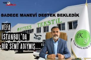 """TOSYA KY TEKSTİL SAHİBİ ÖMER KAYA ASILSIZ İDDİALARA CEVAP VERDİ """"BİZ BUNU HAKETMEDİK""""…!"""