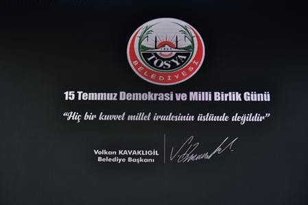 FOTOĞRAF KARELERİNDE TOSYA'DA 15 TEMMUZ YILDÖNÜMÜ….