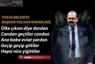 """BAŞKAN VOLKAN KAVAKLIGİL """" ÜLKE ÇIKSIN DİYE DARDAN """""""
