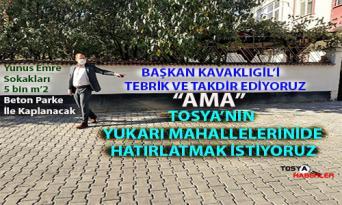 VOLKAN BAŞKAN'IN  OLAĞAN ÜSTÜ GAYRETİNİ YUKARI MAHALLELERDE GÖRMEK İSTİYOR..