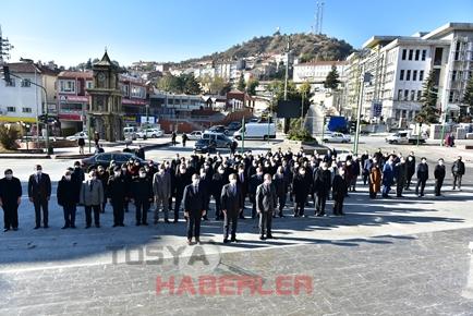24 KASIM ÖĞRETMENLER GÜNÜ TOSYA'DA TÖREN İLE KUTLANDI..
