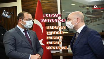 """BAŞKAN VOLKAN AÇIK VE NET İFADE ETTİ """" TALEP EDİYORUZ""""…."""