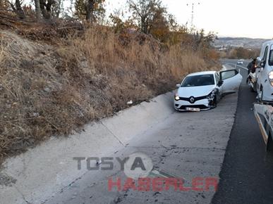 TOSYA DERİNGÖZ MEVKİ TRAFİK KAZASI..
